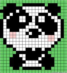 panda pixel template 1000 images about pixel on perler bead