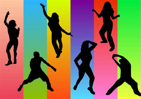 imagenes de fitness dance free zumba vector download free vector art stock