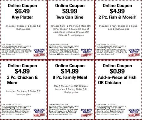 Long John Silvers Gift Card - long john silvers coupons coupon codes blog