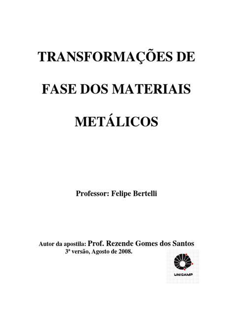 TRANSFORMAÇÕES DE FASE DOS MATERIAIS METÁLICOS.pdf