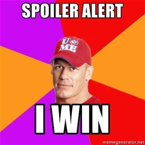 Funny John Cena Memes - john cena s clean ppv losses considered headside