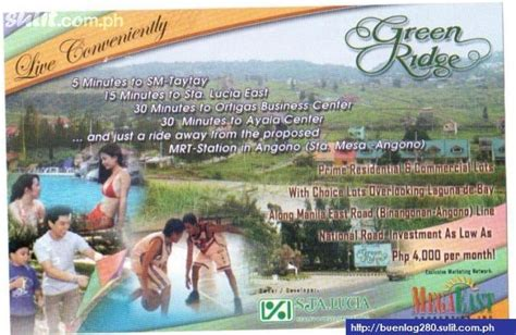conveniently  greenridge subdivision binangonan rizal sales philippines