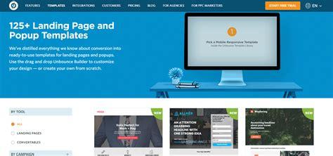 Website Landing Page Design Templates