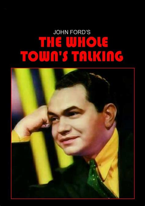 the whole town s talking a novel books the whole town s talking posters from poster shop