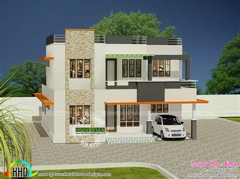 Design Of Home 20 Lakhs House In Kerala Kerala Home Design And Floor Plans