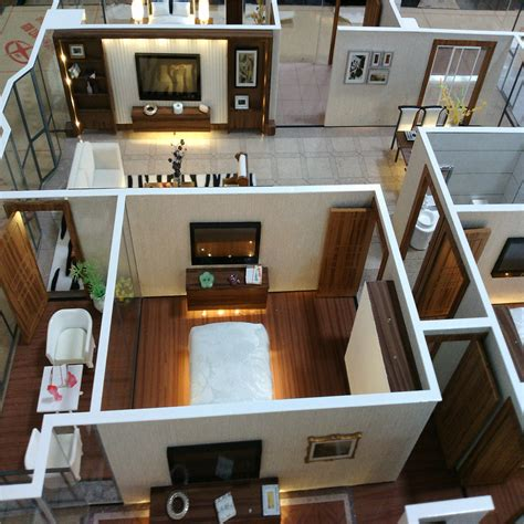 interior layout house model scale model apartment