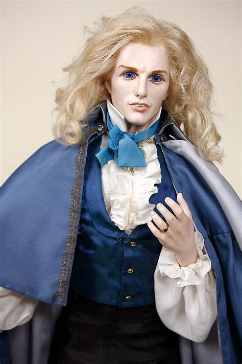 tom cruise  lestat porcelain soft body art doll