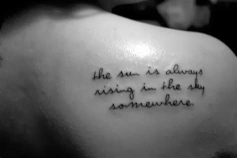animal tattoo with quote moved permanently