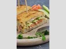 Avocado-Lachs Sandwich mit Chili-Koriander Mayonnaise ... Nacho Salat Rezept