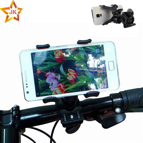 Bicyclebike Phone Holder For Smartphone T0210 4 universal bike phone holder cycling bicycle adjustable phone mount holder on bike for iphone 6s