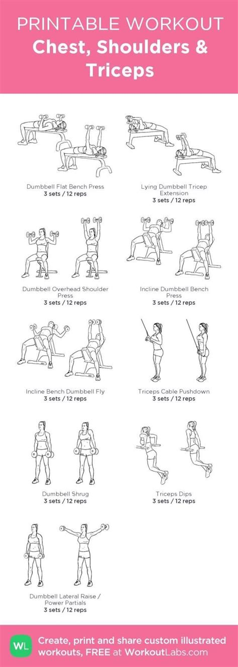 chest shoulders and triceps workout posted by newhowtolosebellyfat