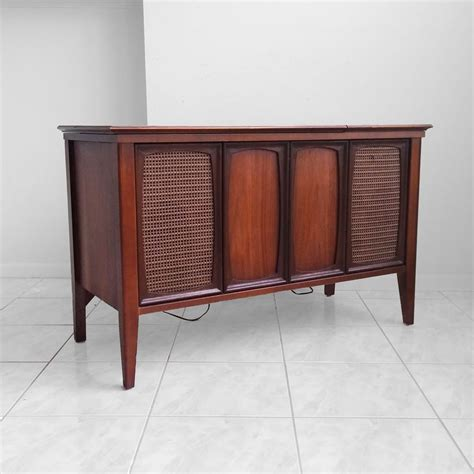 zenith record player cabinet 60s zenith x910 console stereo record player mid century