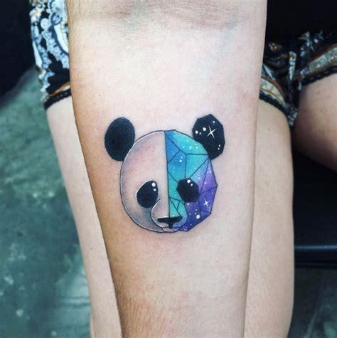 tattoo panda geometrico pin de tattooed brown girl en for the love of ink and