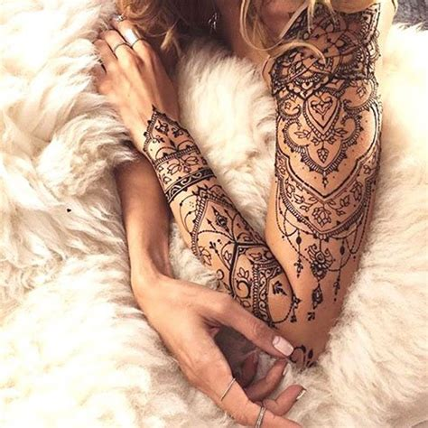 full body lace tattoo 50 cute arm tattoo designs for women