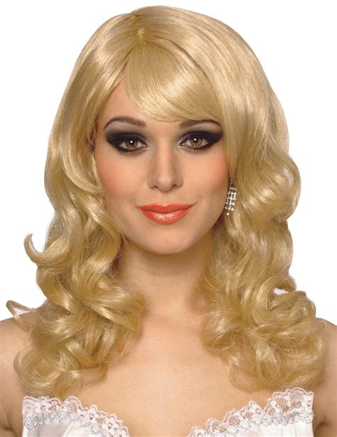 With Wig On by Costume Wigs