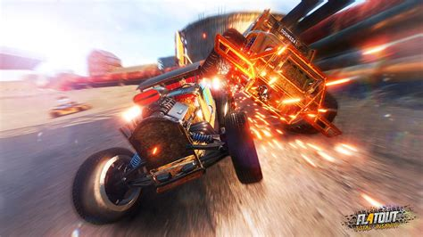 Flatout 4 Total Insanity Reg 2 Ps4 flatout 4 total insanity crash racer ist f 252 r die ps4