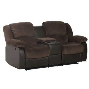 Luxury Recliners by Blake Luxury Fabric 2 Seater Recliner With Console