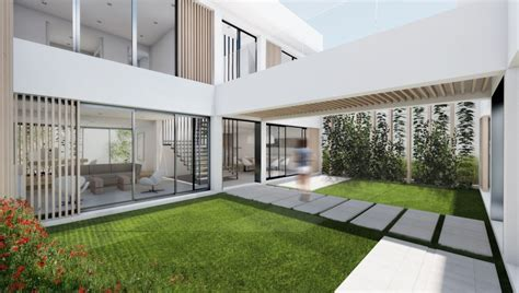 Villa Patio by Archicad Bim Studies Gt From Concept To Bim Villa