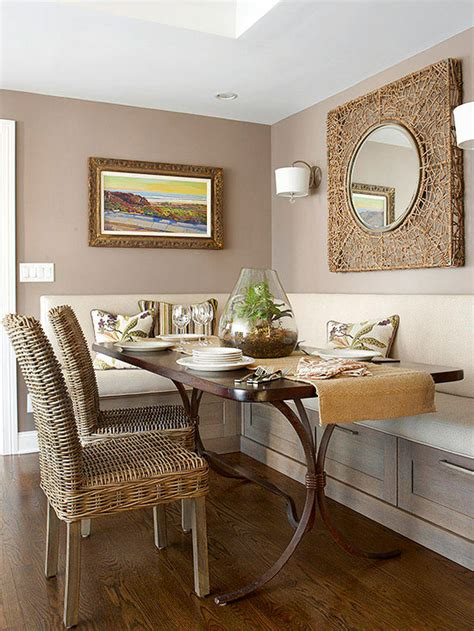 Dining Room Ideas For Small Spaces Small Space Dining Rooms