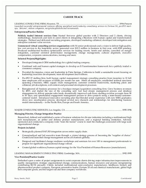 Resume Exles For Executive Management Executive Resume Exles The Knownledge