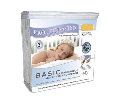 Xl Waterproof Mattress Pad by Basic Waterproof Mattress Protector Xl Protect A Bed