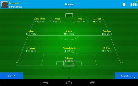 Online Soccer Manager (OSM) – Games for Android – Free ...