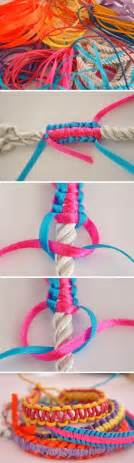 Where Did Macrame Originate - diy macrame ribbon bracelet pictures photos and images