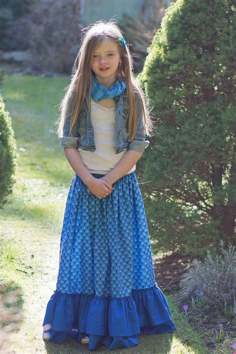 gloria s tween maxi skirt sun dress and top pdf pattern
