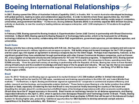 International Competitive Intelligence Report Boeing by International Competitive Intelligence Report Boeing