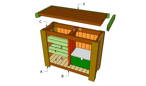 woodworking plans   outdoors bar  woodworking