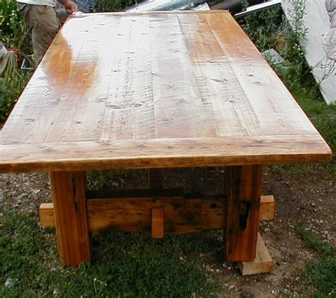 dining table barnwood dining table plans