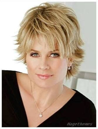 hairstyle square face double chin image result for short hairstyles for over 50 with glasses