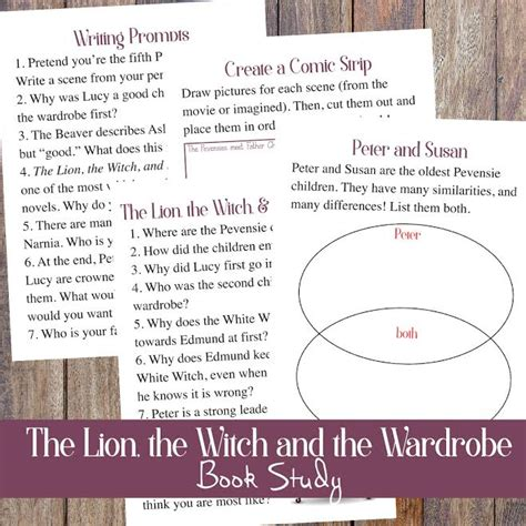 The The Witch And The Wardrobe Free by The The Witch And The Wardrobe Book Study Free Printables