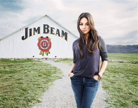 commercial model pay mila kunis puts her love of bourbon to work as the new