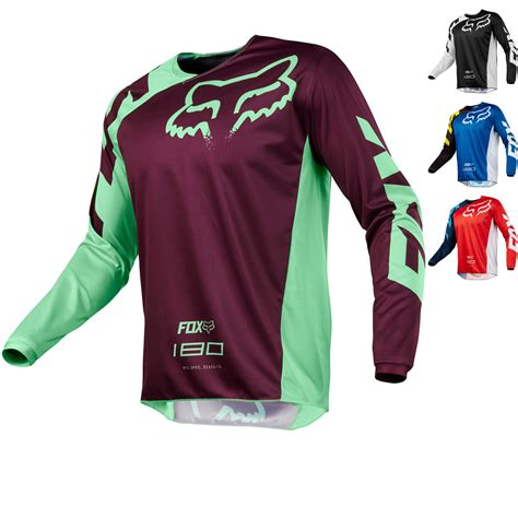 fox motocross jersey fox racing 180 race motocross jersey arrivals
