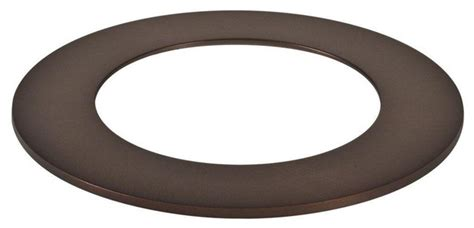 ceiling light trim rings halo recessed lighting 4 in recessed tuscan bronze led