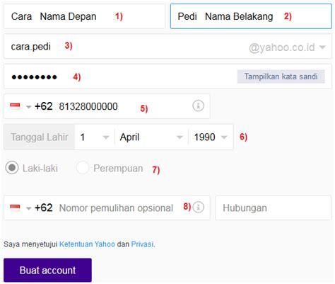 yahoo membuat akun baru cara singkat daftar dan buat akun email baru di yahoo