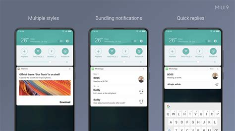 redmi paid themes miui 9 global version announced to roll out in india from