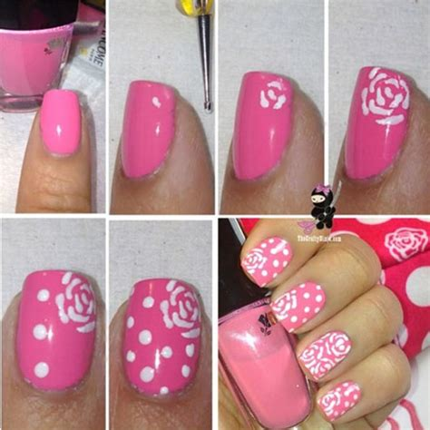 argyle pattern nail art c 243 mo hacer flores en las u 241 as tutorial u 241 asdecoradas club