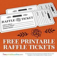 free printable sports tickets raffle tickets template vay2pzop sports pinterest