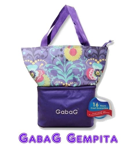 Gabag Gempita Cooler Bag gabag gempita breastmilk coolerbag