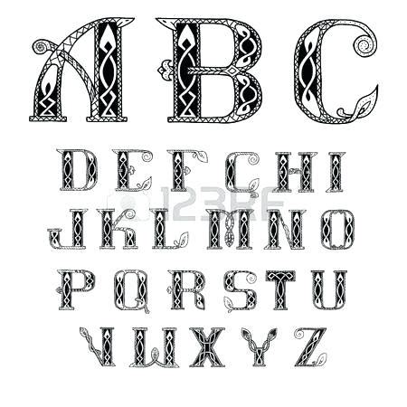 celtic tattoo font generator celtic lettering alphabet ornate font celtic lettering