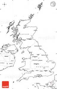 Simple Uk Outline by Blank Simple Map Of United Kingdom