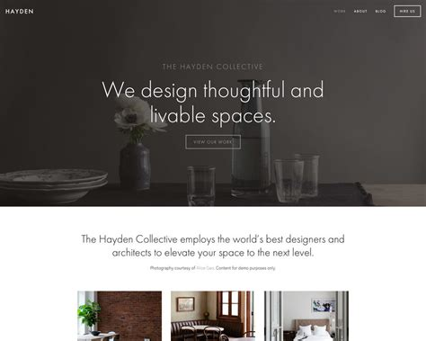 8 Of My Favorite Squarespace Templates For Creative Businesses Squarespace Templates For Photographers
