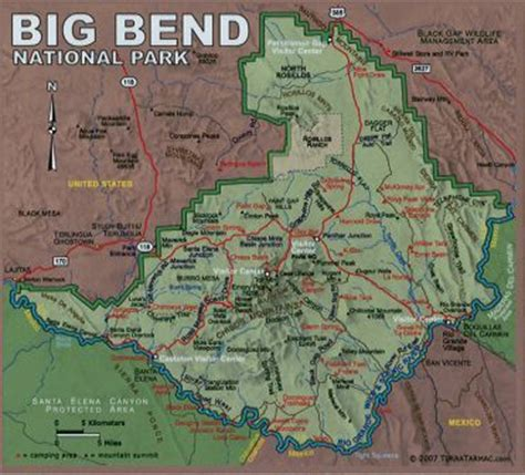 big bend park map the adventures of archie the traveling t rex big bend