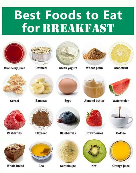what are the best foods to eat healthy foods to eat for breakfast www imgkid the