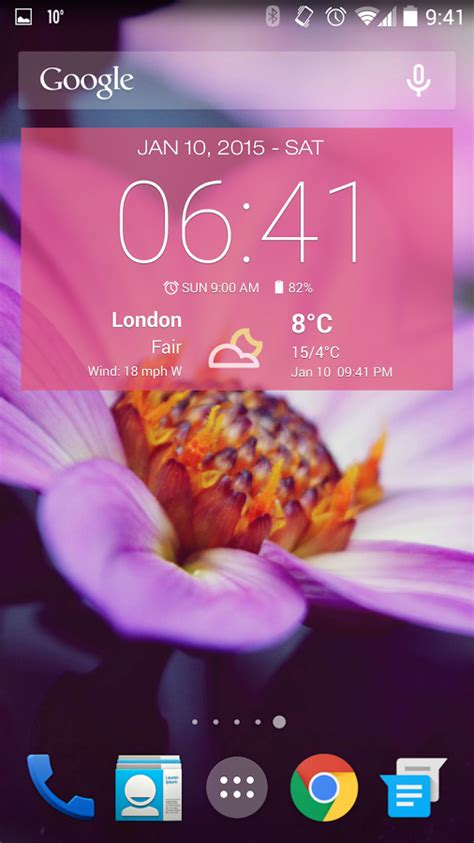 weather and clock widget for android free weather clock widget for android ad free android apps on play