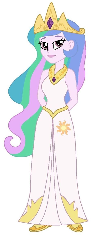 my little pony princess cadence equestria girls equestria girls princess celestia by cruelladevil84