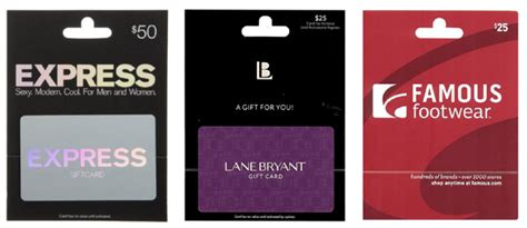 Limited Gift Card At Express - amazon gift card lightning deals express famous footwear lane bryant jungle