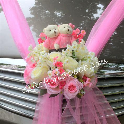 Wedding Car Flowers Singapore by Wedding Car Dcor Wedding Arrangement Wedding Flowers